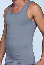 Майка мужская большие размеры 100% хлопок, премиум качество, натуральная, классическая - разные цвета, фото 2