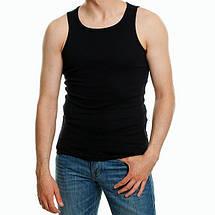 Майка мужская большие размеры 100% хлопок, премиум качество, натуральная, классическая - разные цвета, фото 3