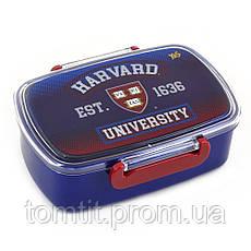 "Набор ""Harvard"".  Ланч бокс (ланчбокс) + бутылка, ТМ YES!, фото 2"
