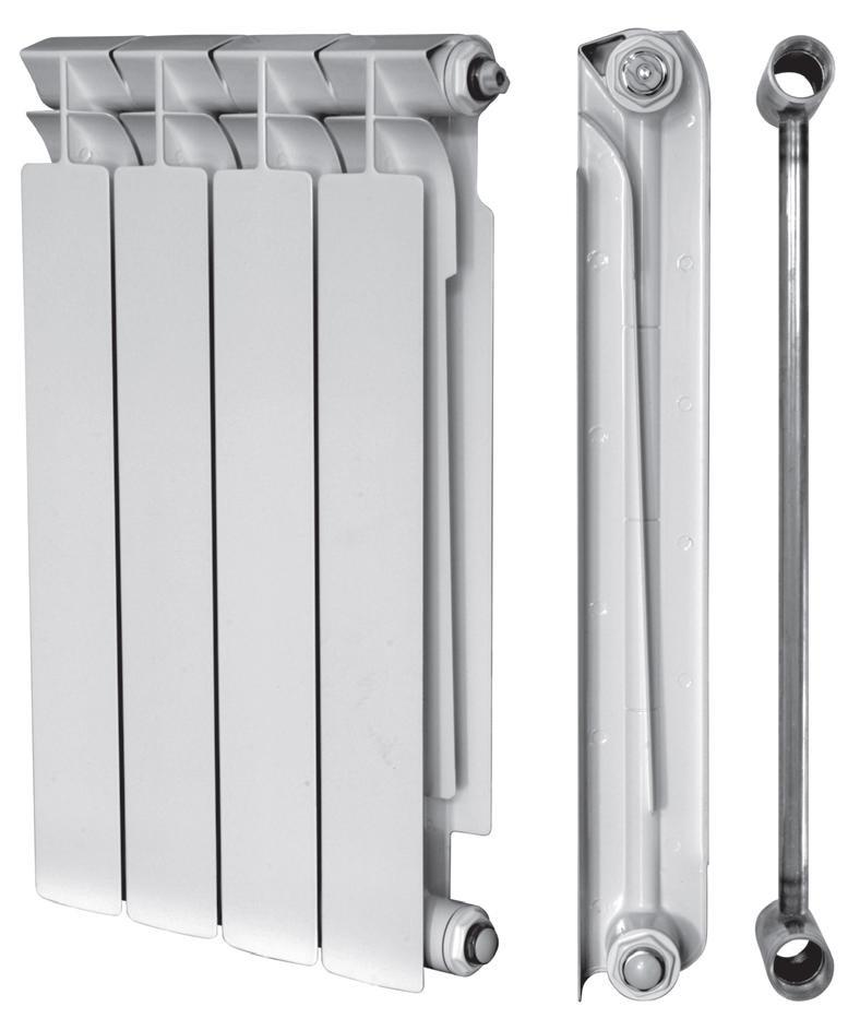 Биметаллический радиатор 500/80 HERTZ 10 секций
