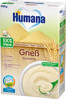 Каша пшеничная безмолочная сухая HUMANA Getreibrei Griess Organic для детей от 6-ти месяцев 200 г.
