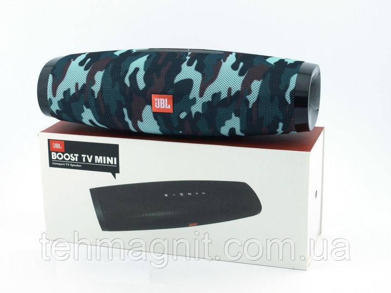 Беспроводная колонка 20W JBL BOOST TV MINI с FM Bluetooth MP3 AUX USB microSD PowerBank (копия)
