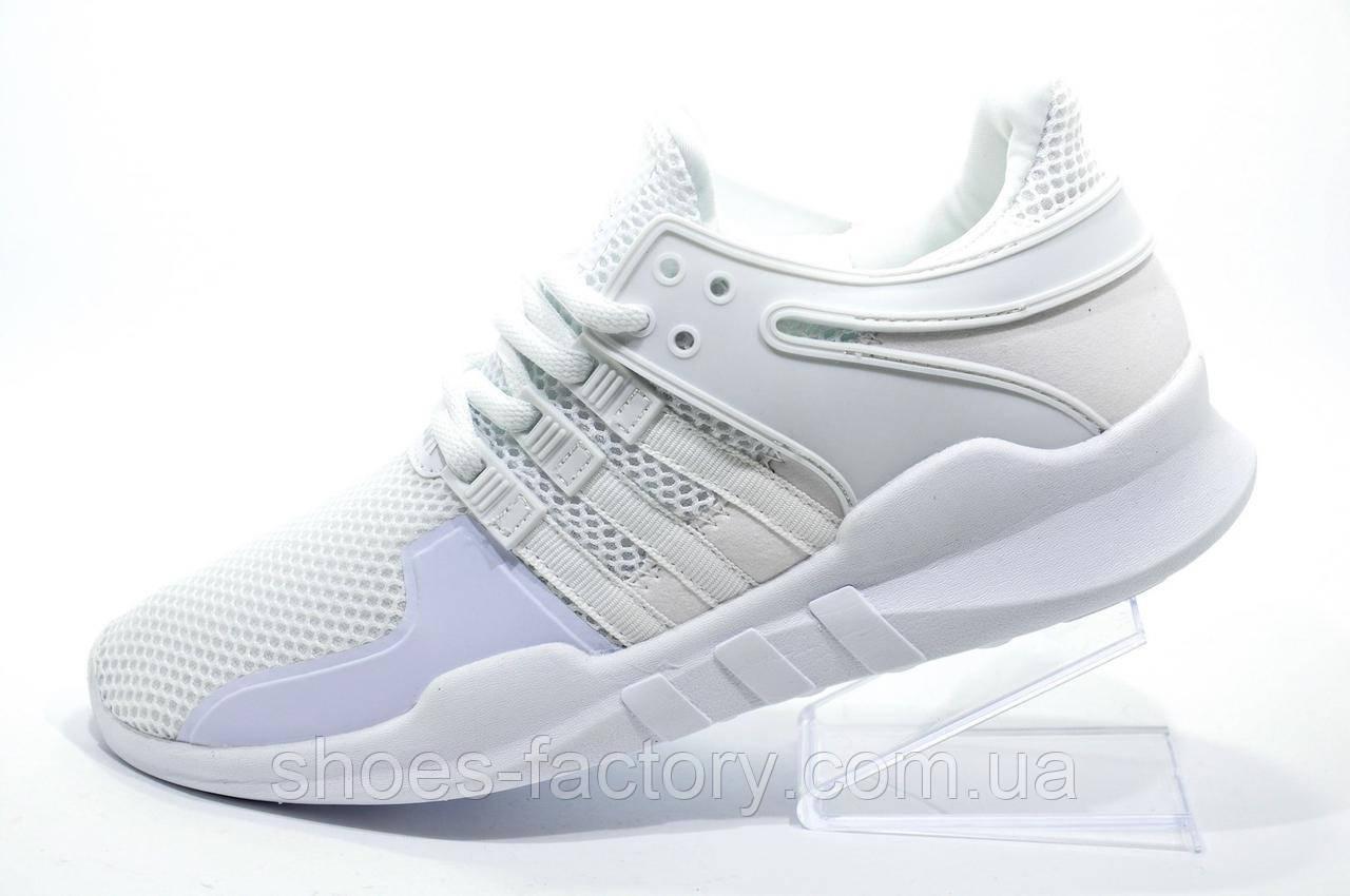 Белые кроссовки в стиле Adidas EQT Support ADV, женские