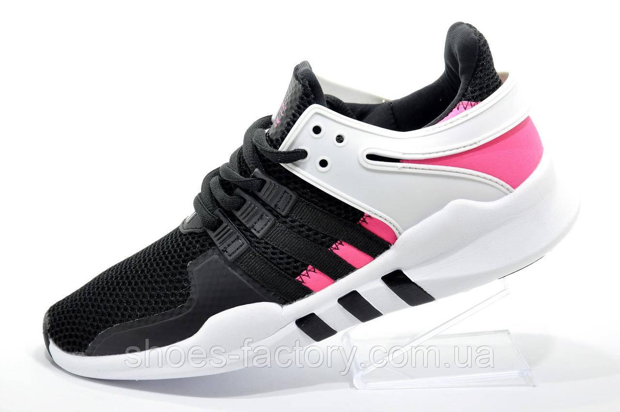 Женские кроссовки в стиле Adidas EQT Support ADV, Black\Pink