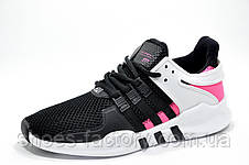 Женские кроссовки в стиле Adidas EQT Support ADV, Black\Pink, фото 2