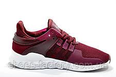 Женские кроссовки в стиле Adidas EQT Support ADV, Бордовые, фото 3
