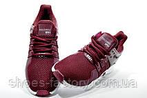 Женские кроссовки в стиле Adidas EQT Support ADV, Бордовые, фото 2