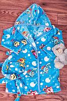 Детский махровый халат Смешарики