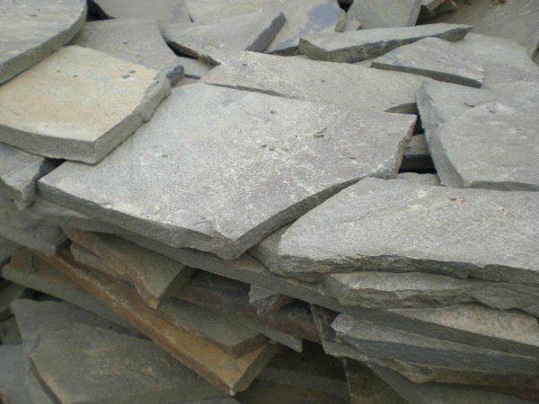 Песчаник/Песчаник серый 10мм. (1пл.=1м.кв.)