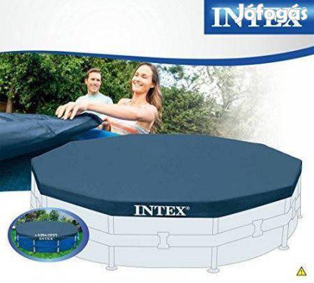 Тент крышка для каркасного бассейна 366см INTEX 28031, фото 2