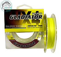 Шнур GLADIATOR super pe WX 4 100м 0.10