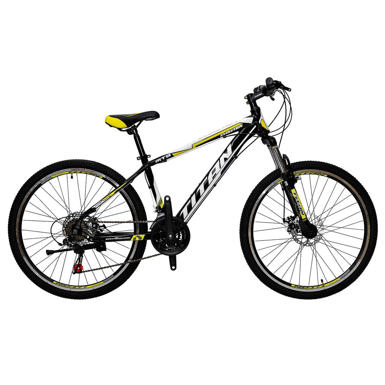 """Гірський велосипед Titan Evolution 26"""" 2018"""