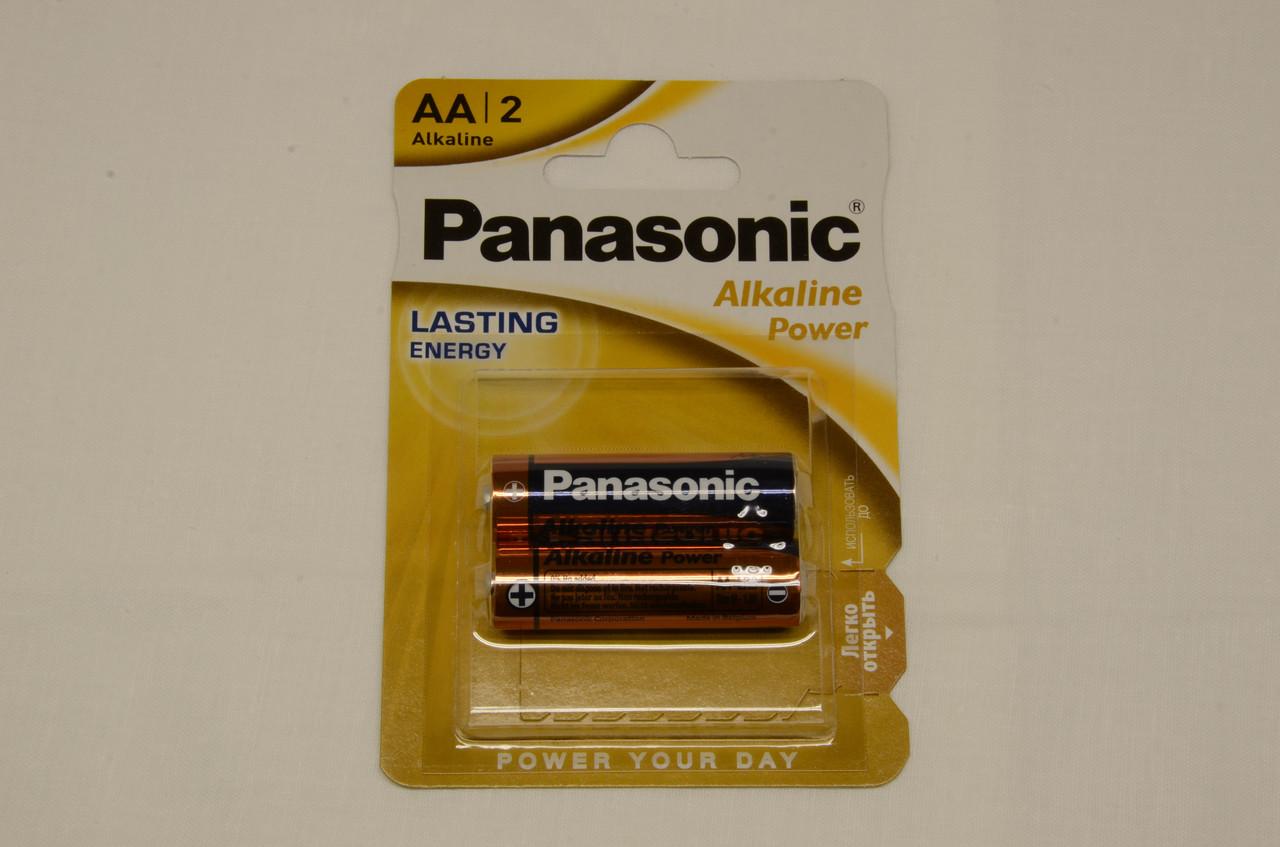 Батарейка Panasonic ALKALINE POWER AA BLI 2