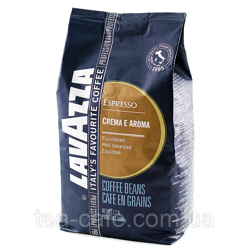 Кофе Lavazza Crema e Aroma Espresso Blue (зерно), 1 кг