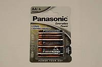 Батарейка Panasonic EVERYDAY POWER AA BLI 4 ALKALINE