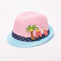 Шляпка летняя для девочки
