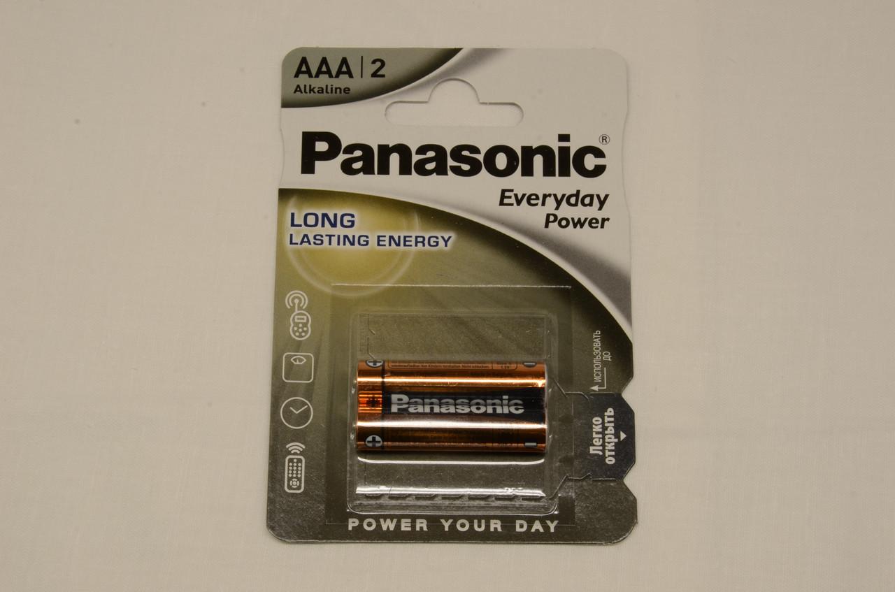 Батарейка Panasonic EVERYDAY POWER AAA BLI 2 ALKALINE