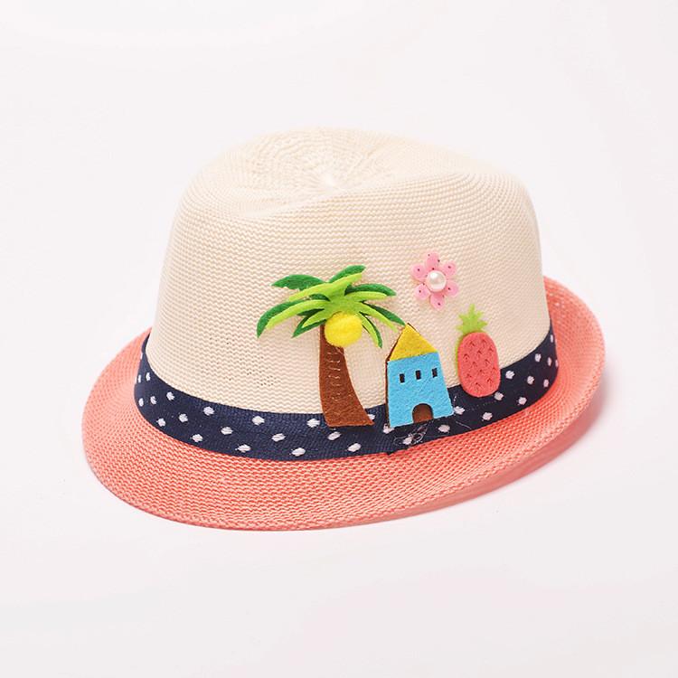 Шляпка летняя детская