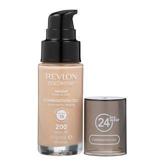 Revlon тональный крем colorstay для комбин. и жирной кожи, фото 1