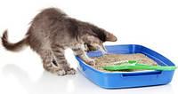 Гигиенические наполнители для кошек.