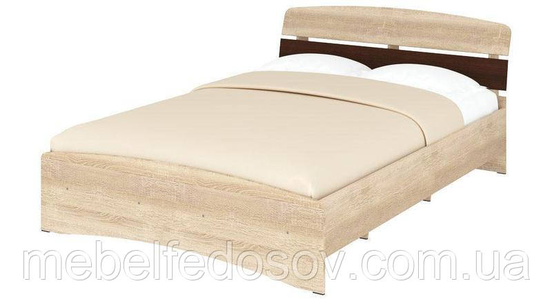Кровать полуторная Милана Кр-140 ДСП  (Пехотин) 1430х2176х835мм