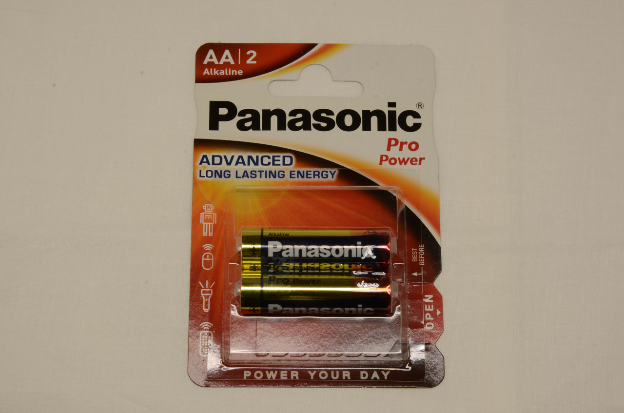 Батарейка Panasonic PRO POWER AA BLI 2 ALKALINE