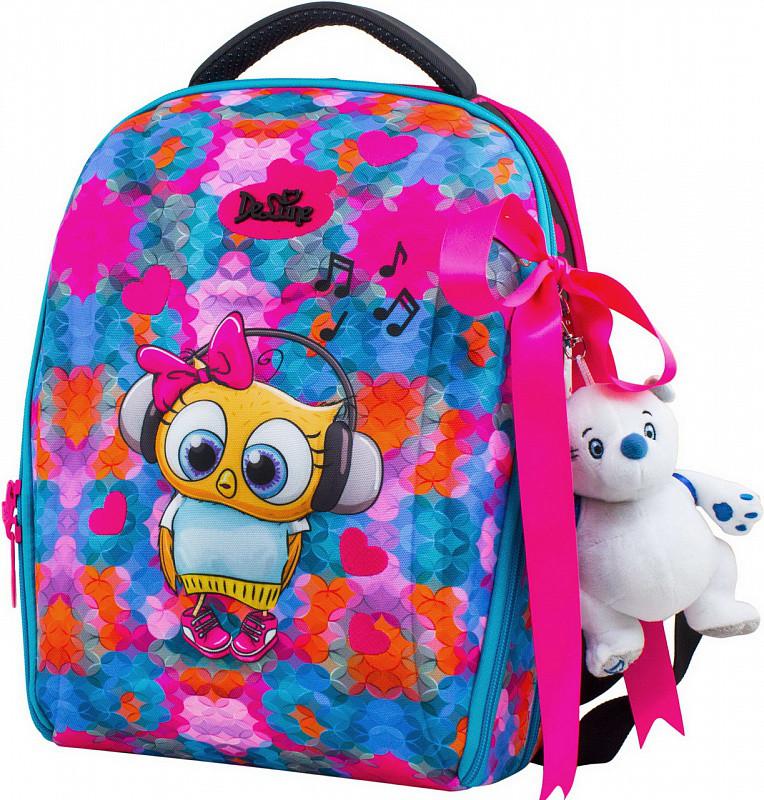 cf4cf0685b47 Рюкзак Delune 7mini-014 школьный для девочек пенал сумка для сменной обуви,  мишка 28