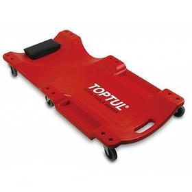 Лежак автослюсаря підкатний пластиковий 1020x480x115mm Toptul JCM-0300