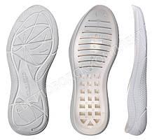 Подошва для обуви PU-7271 белая