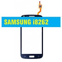 Сенсорний екран Samsung i 8262 / i 8260 Galaxy Core Duo BLACK, фото 2