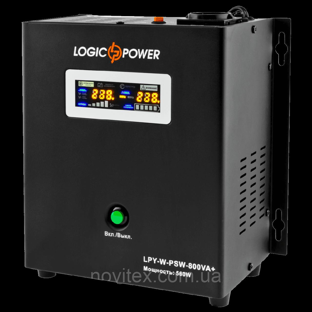 ИБП Logicpower LPY-W-PSW-800+ (560Вт)