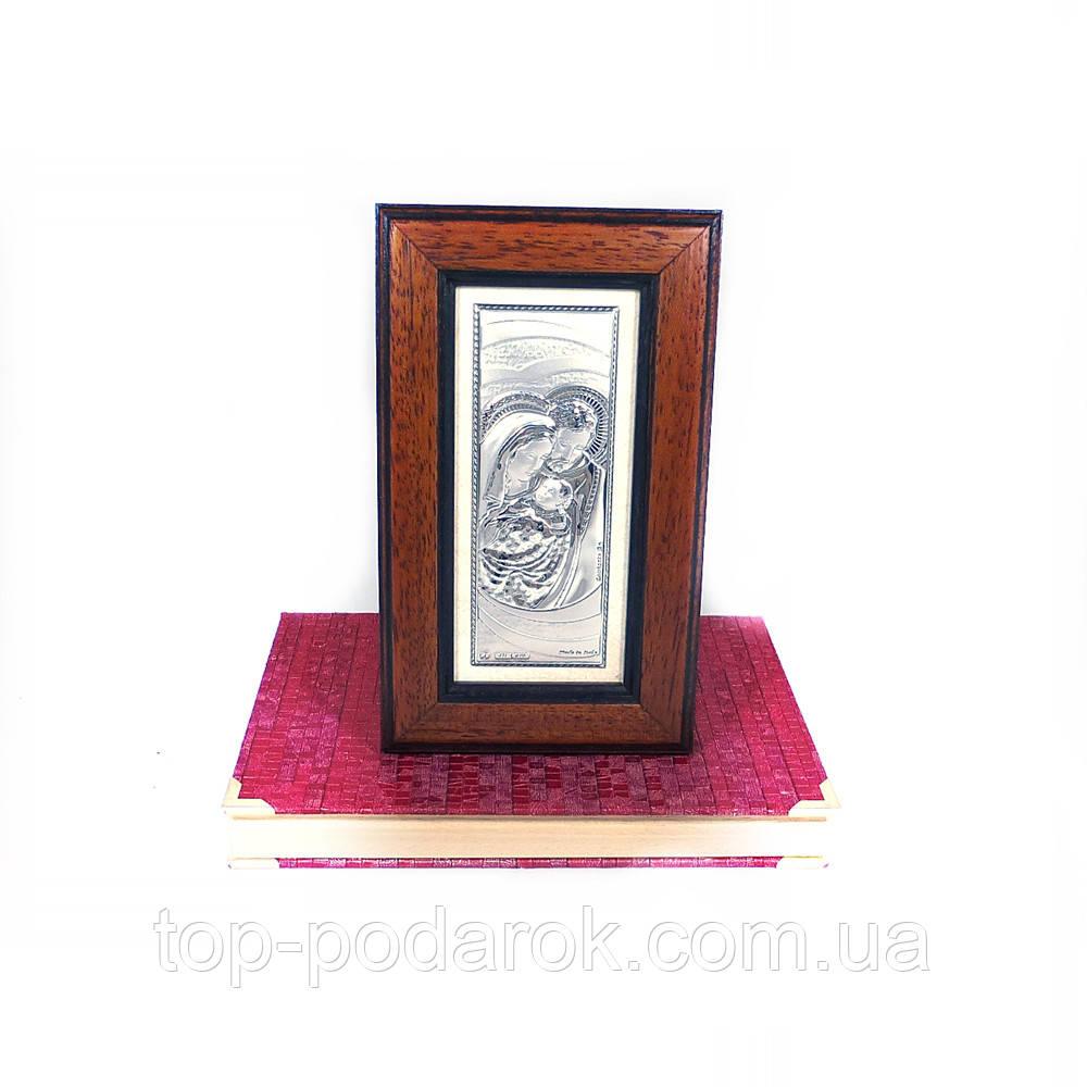 Образ Святе Сімейство в дерев'яній скриньці