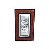 Образ Святе Сімейство в дерев'яній скриньці, фото 2