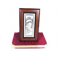 Образ Святая Мария в деревянной шкатулке, фото 1