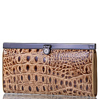 Кошелек женский кожаный WANLIMA (ВАНЛИМА) W50046749-beige