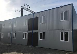 Модульное общежитие, жилье для рабочих