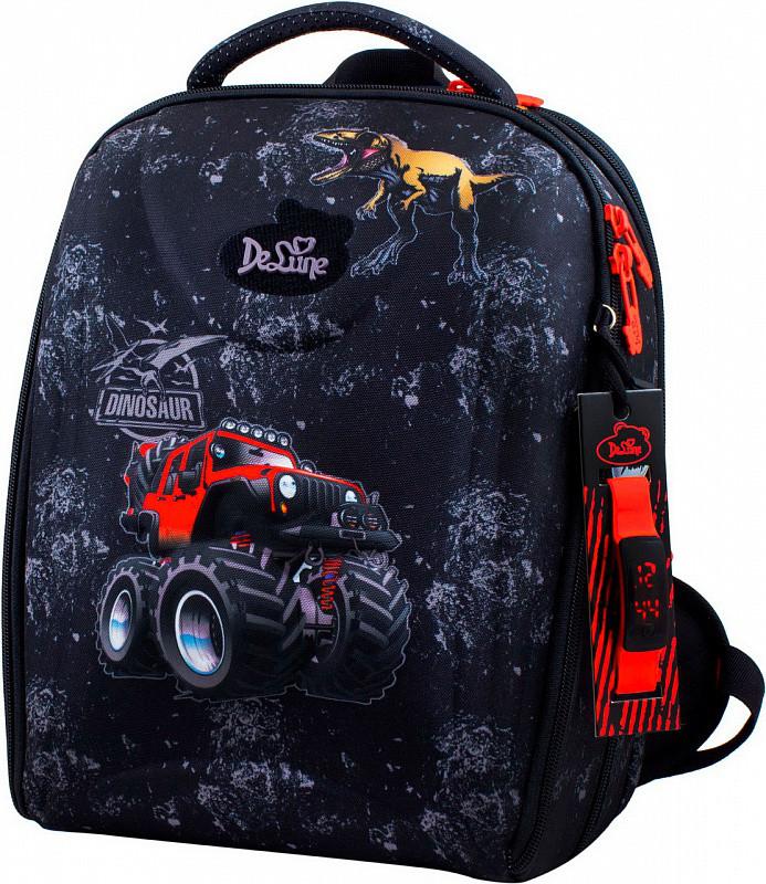 448d65c5b335 Рюкзак Delune 7mini-006 пенал сумка для сменной обуви часы в подарок  школьный для мальчиков 28 х 16 х 36см