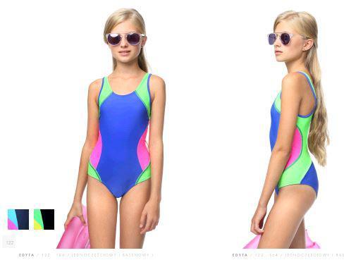 Спортивный купальник для девочки.Польша. Keyzi Edyta New 122-164
