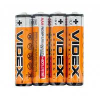 Батарейки VIDEX R03 P/AAA (микро пальчик)