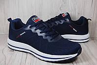 Baas мужские летние кроссовки сетка синие, фото 1