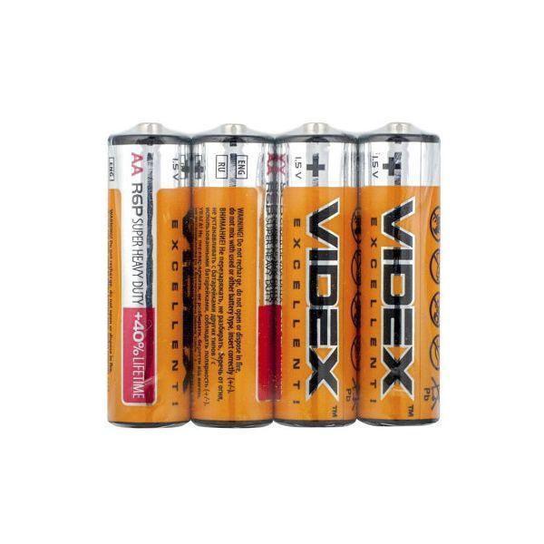 Батарейка VIDEX R6 P/AA  (пальчик)