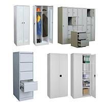 Шкафчики металлические для одежды и документов | Цена шкафа из металла для производства и раздевалок