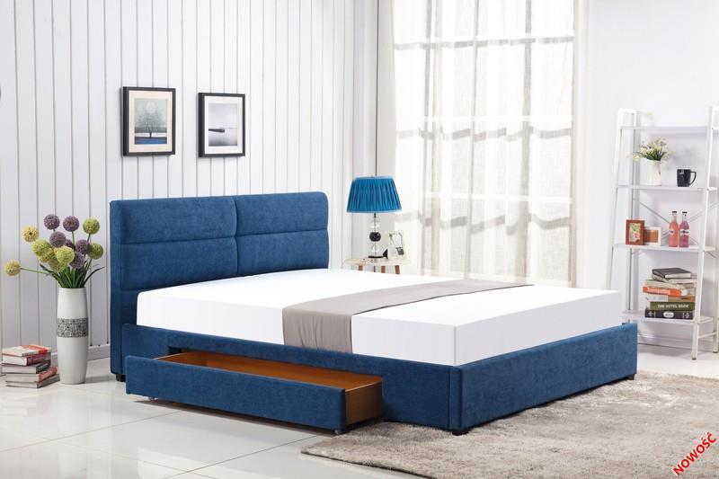 Кровать MERIDA 160 синий