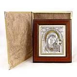 Икона Казанская в деревянной рамке в шкатулке, фото 2