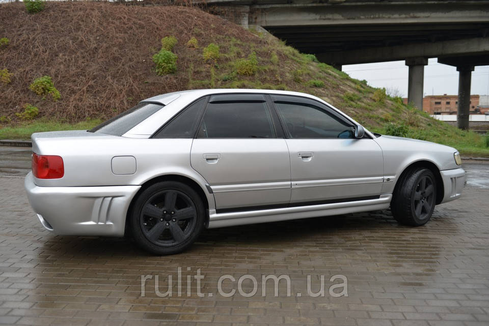 Дефлектори вікон вітровики на AUDI Ауді 100 Sd (4A, C4) 1990-1994 Audi A6 Sd (4A, C4) 1990-1997
