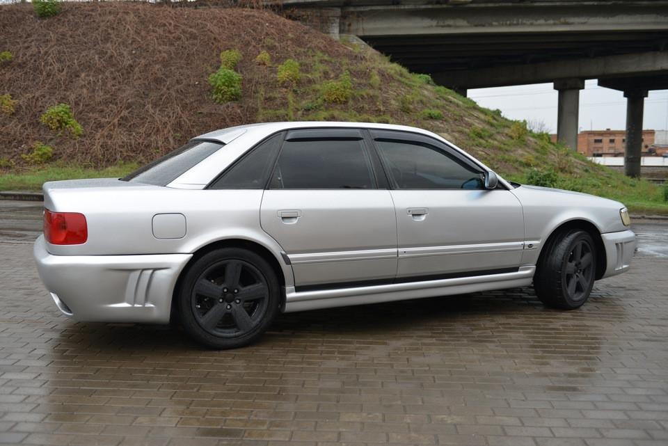 Дефлекторы окон ветровики на AUDI Ауди 100 Sd (4A C4) 1990-1994 Audi A6 Sd (4A C4) 1990-1997