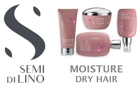 Увлажнение и питание сухих волос Alfaparf Milano Semi Di Lino Moisture Dry Hair