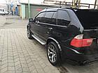 Дефлекторы окон ветровики на BMW БМВ X5 (E53) 2000-2006, фото 2