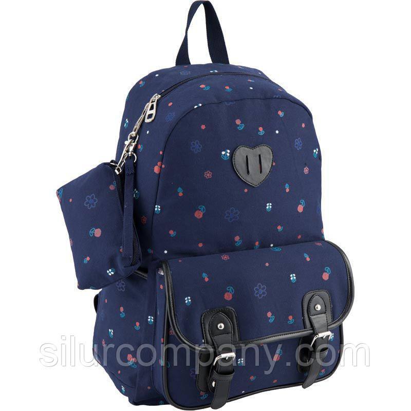 e45da17bc852 Милый рюкзак для девочки школьный Kite Urban K18-897L - Интернет магазин