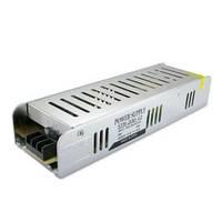 Блок питания для светодиодной ленты DC12 200W 16,5А STR-200 узкий с EMC фильтром
